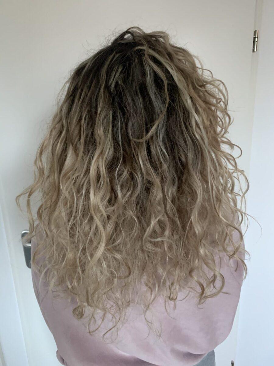 curly girl moisture