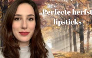 Herfst lipsticks