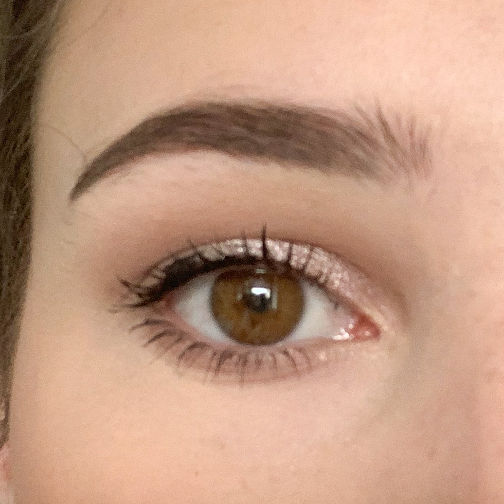 oog met maybelline great lash mascara