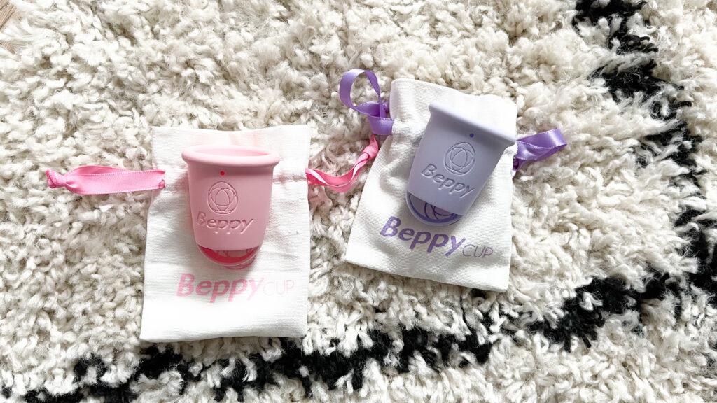 roze en paarse beppy cups