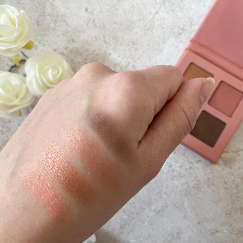 swatches date night eyeshadow palette noosh beauty